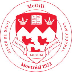 McGill Law Journal